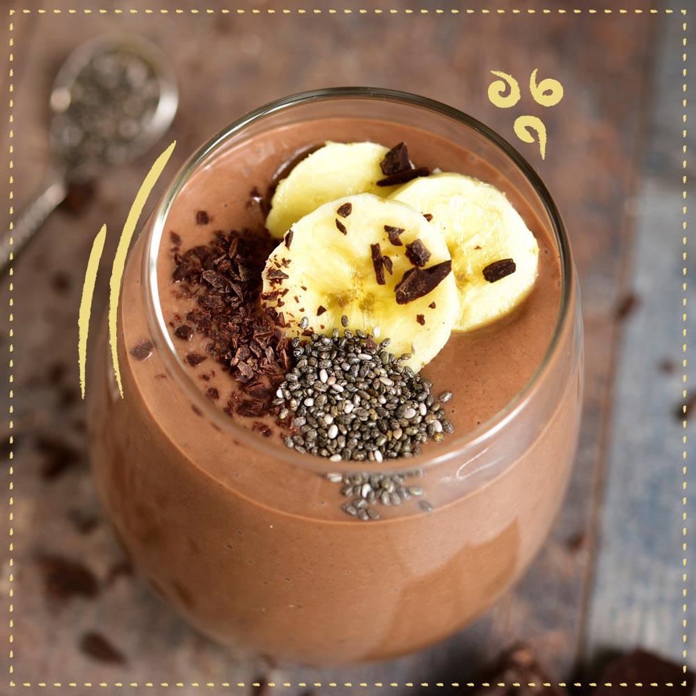 Cruzeiro - batido de platanos al cafe