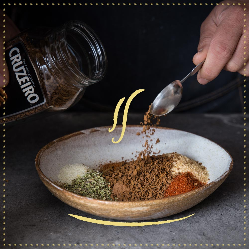 Cruzeiro - coffee rub tejano