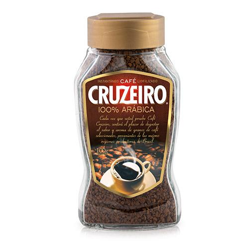 Cruzeiro Instantáneo 100% Arábica Frasco 100gr