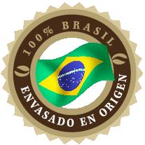 sello 100% Brasil