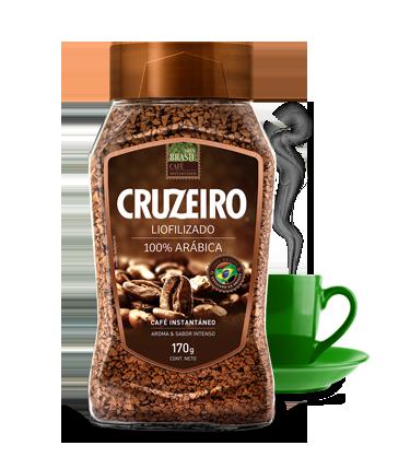 Cruzeiro Instantáneo - 100% Arábica 170gr